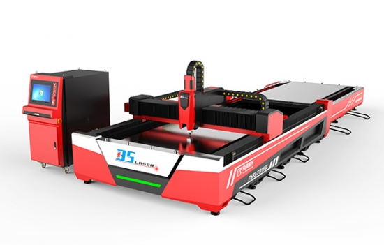 Open Fiber laser with  Pallet changer