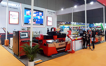 F3015E Fiber Laser Cutting Machine  in Shanghai Exhibition