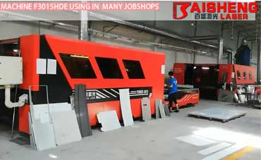 China Laser Cutting Machine Users Jobshops with Baisheng Laser F3015HDE