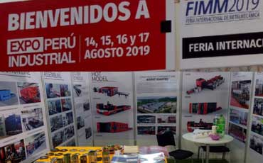 China Baisheng Laser joined EXPO Perú Industrial 2019 Lima