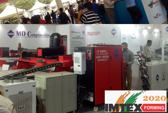 Baisheng Laser and MD Corporation  in IMTEX FORMING 2020 23 to 28 January 2020 in Bengaluru